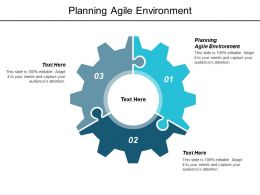 Planning Agile Environment Ppt Powerpoint Presentation Layouts Visuals Cpb