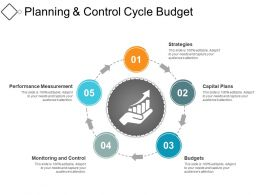 Planning And Control Cycle Budget PowerPoint Templates