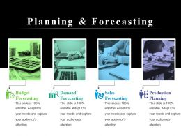 Planning And Forecasting PowerPoint Slide Presentation Tips