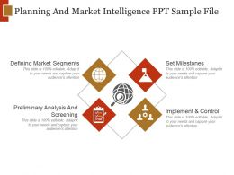 Planning And Market Intelligence Ppt Sample File