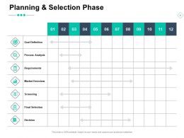 Planning And Selection Phase Arrows Growth Server Ppt Powerpoint Presentation Ideas Designs