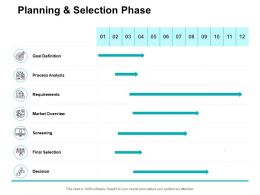 Planning And Selection Phase Ppt Powerpoint Presentation Icon Slide Download