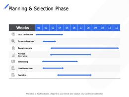 Planning And Selection Phase Screening Decision Ppt Powerpoint Presentation Ideas Example