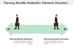 Planning Benefits Realization Elements Disruptive Innovation Wholesale Cloud