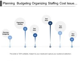 Planning Budgeting Organizing Staffing Cost Issue Schedule Issue