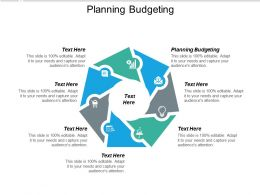 Planning Budgeting Ppt Powerpoint Presentation Icon Slide Cpb