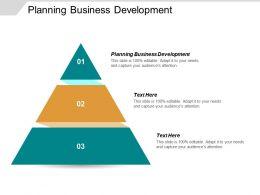 Planning Business Development Ppt Powerpoint Presentation Inspiration Maker Cpb