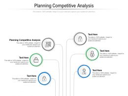 Planning Competitive Analysis Ppt Powerpoint Presentation Infographics Design Inspiration Cpb