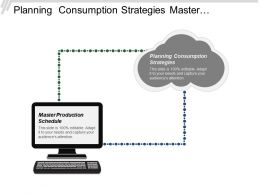 Planning Consumption Strategies Master Production Schedule