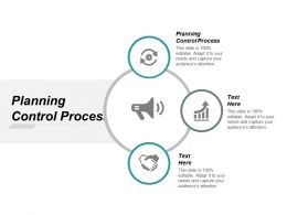 Planning Control Process Ppt Powerpoint Presentation Icon Inspiration Cpb