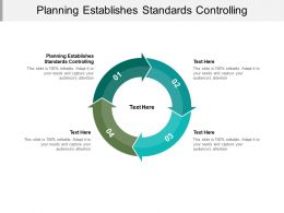 Planning Establishes Standards Controlling Ppt Powerpoint Presentation Show Cpb