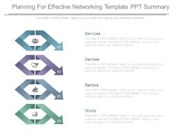 Planning For Effective Networking Template Ppt Summary
