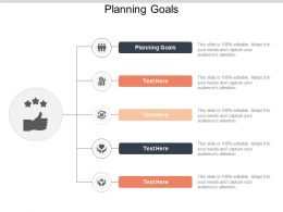 Planning Goals Ppt Powerpoint Presentation Professional Icon Cpb