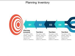 Planning Inventory Ppt Powerpoint Presentation Icon Examples Cpb