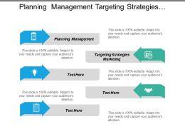 Planning Management Targeting Strategies Marketing Business Strategy Development Cpb