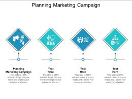 Planning Marketing Campaign Ppt Powerpoint Presentation Infographic Mockup Cpb