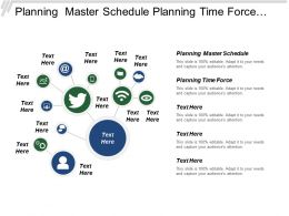 Planning Master Schedule Planning Time Force Interactive Mps