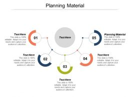 Planning Material Ppt Powerpoint Presentation Gallery Master Slide Cpb