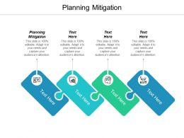 Planning Mitigation Ppt Powerpoint Presentation Gallery Maker Cpb