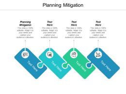 Planning Mitigation Ppt Powerpoint Presentation Icon Objects Cpb