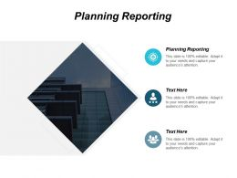 Planning Reporting Ppt Powerpoint Presentation Icon Inspiration Cpb