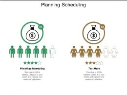 Planning Scheduling Ppt Powerpoint Presentation Files Cpb