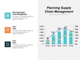 Planning Supply Chain Management Ppt Powerpoint Presentation Inspiration Graphics Cpb