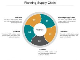 Planning Supply Chain Ppt Powerpoint Presentation File Infographic Template Cpb