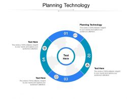 Planning Technology Ppt Powerpoint Presentation Ideas Layout Ideas Cpb