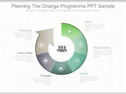 Planning The Change Programmed Ppt Sample