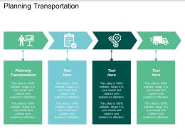 Planning Transportation Ppt Powerpoint Presentation Icon Graphics Tutorials Cpb