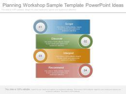 Planning Workshop Sample Template Powerpoint Ideas