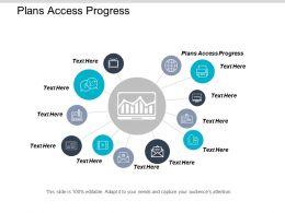 Plans Access Progress Ppt Powerpoint Presentation Icon Layout Ideas Cpb