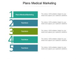 Plans Medical Marketing Ppt Powerpoint Presentation Pictures Designs Cpb