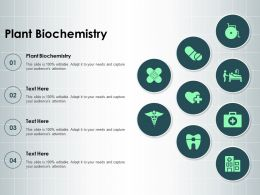 Plant Biochemistry Ppt Powerpoint Presentation Show Templates