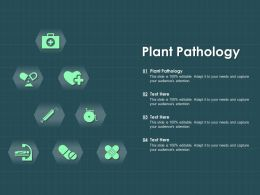 Plant Pathology Ppt Powerpoint Presentation Slides Graphics