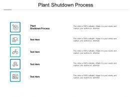 Plant Shutdown Process Ppt Powerpoint Presentation Infographics Guide Cpb