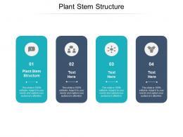 Plant Stem Structure Ppt Powerpoint Presentation Portfolio Visual Aids Cpb