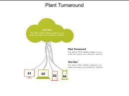 Plant Turnaround Ppt Powerpoint Presentation Summary Cpb