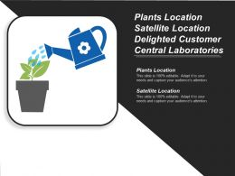 Plants Location Satellite Location Delighted Customer Central Laboratories Cpb
