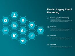Plastic Surgery Email Marketing Ppt Powerpoint Presentation Show Topics