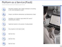 Platform As A Service Hybrid Ppt Powerpoint Presentation Diagram Images
