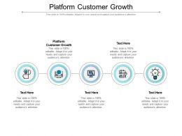 Platform Customer Growth Ppt Powerpoint Presentation Inspiration Background Cpb