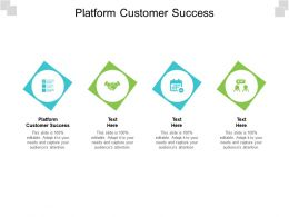 Platform Customer Success Ppt Powerpoint Presentation Pictures File Formats Cpb