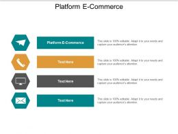 Platform E Commerce Ppt Powerpoint Presentation Gallery Picture Cpb