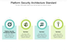 Platform Security Architecture Standard Ppt Powerpoint Presentation Infographic Template Layouts Cpb