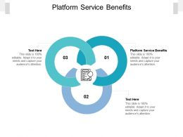 Platform Service Benefits Ppt Powerpoint Presentation Gallery Graphic Images Cpb