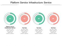 Platform Service Infrastructure Service Ppt Powerpoint Presentation Outline Background Images Cpb