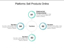 Platforms Sell Products Online Ppt Powerpoint Presentation Slides Good Cpb