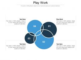 Play Work Ppt Powerpoint Presentation Infographic Template Cpb